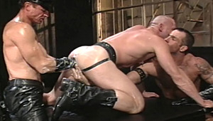 Spike returns to be the bottom slut toy for Jay and Stoker