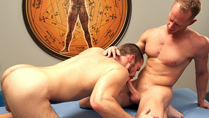 Awesome gay duo having fun together by fucking & blowing !