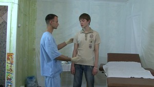 Medical doctor needs to examine young gay boys chaste pecker desperately.