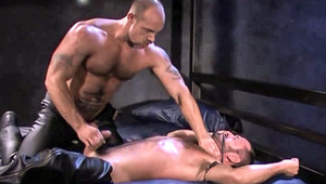 Jake and Ty lube up, fuck and indulge in deep sounding