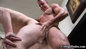 Trent Blade is looking better than ever and he is back to give some hard fucking to Dillinger Cole.