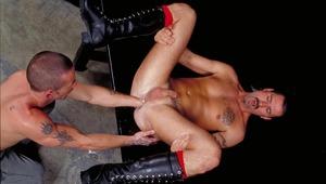 Jack Stuart is feasting on Scott Sampson's willing booty !
