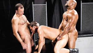 Erik, Ken and Trey start to suck deep in their mouth to fuck