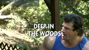 Zeb Atlas catches worker Jessie Colter about to ditch his duties for a gay hookup in the woods.  When Jessie spots Zeb's boner, plans change and he instead hooks up with his ridiculously muscled boss!