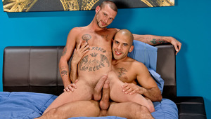 Austin slams Jarvis hard in his tight manhole until they sperm