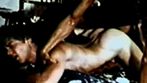 Watch This pretty stud Opening This Dude's butt So Hard He Cums!