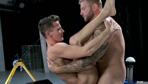 "Colby Jansen is the feature character in new MEN.COM series ""The Gaytrix"".  In episode one Colby gets his dick serviced by horny twink Darius Ferdynand."