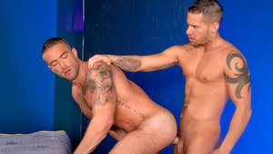 Shane's hole is wet & pulsating, ready to be slammed by Jake