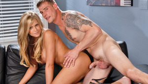 Dacry Tyler gets her pussy hammered by mega sweetie Max Steel
