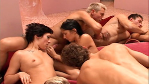 Amazing Bi Orgy With Hot guys & wild chicks