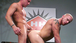 Hot Session With Luke Riley! His Tight booty banged By Trevor
