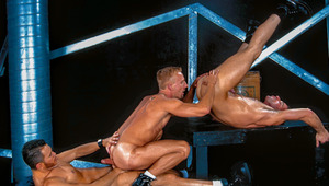 Bruce & Riley are joined by Tony for a steaming threesome