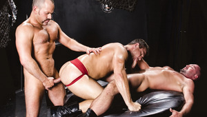 2 daddies take control of their bottom man who wants more.
