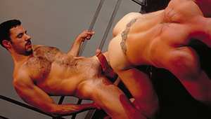 Vaccaro's beefy pole rocks Lance like a horny jackhammer !