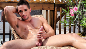 Zack Lemec, a male stripper in Montreal, does his first solo
