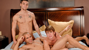 Reed gets a hard pounding from the Wilde Stallion and Johnny