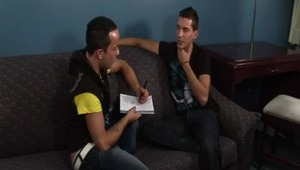 """Isaac is planning to visit Mexico, so he enlists Deano to help him learn some Spanish. Being the helpful soul that he is, Deano teaches him a little """"Greek"""" while he's at it. ;-)"""