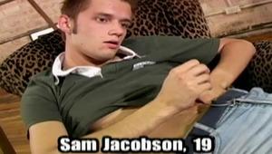 charming hot teen Sam Jacobson horny as fuck