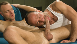 Johnny Gun gets his booty boned by young stud Robbie Ireland